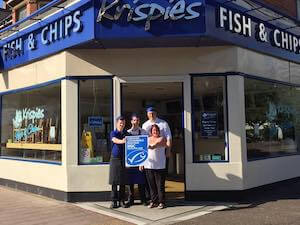 Krispies award winning chip shop