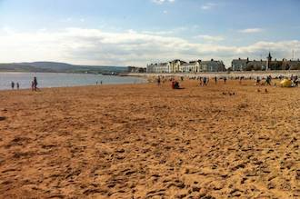 Exmouth Beach golden sands