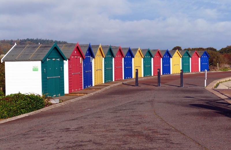 exmouth beach huts