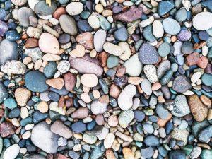 Pebbles on Budleigh Beach